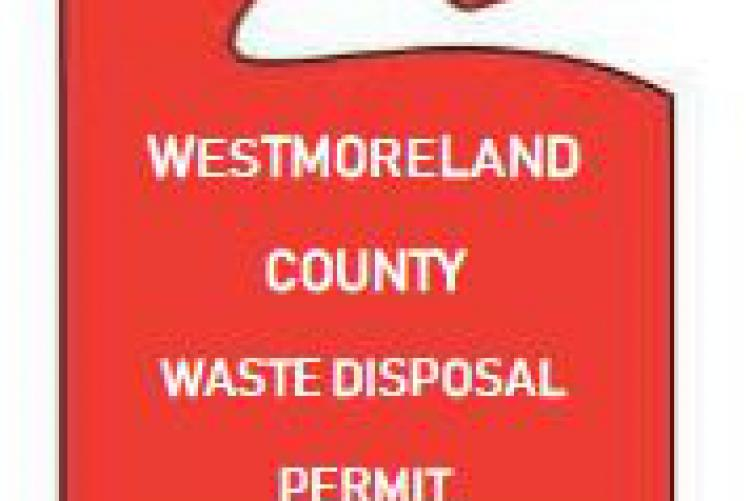 Disposal permit