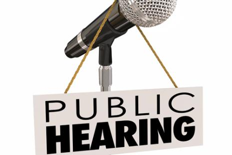 Public hearing microphone